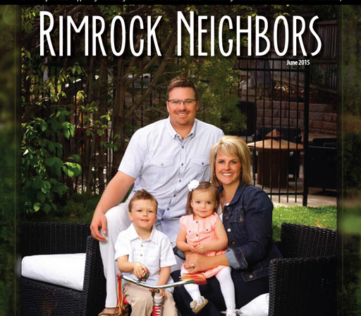 Lapitos Featured on the Cover of Rimrock Neighbors